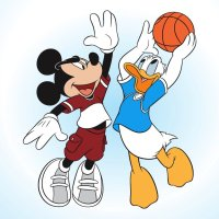 Rivalries of Mickey and Donald