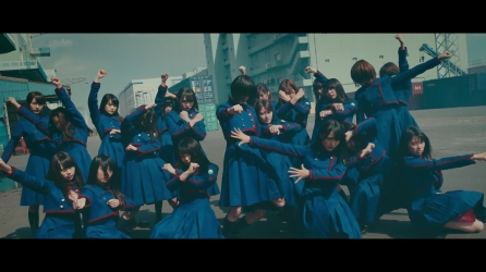 1080p [MV] Keyakizaka46 _ 4th Single _ Fukyouwaon.MP4_000040040
